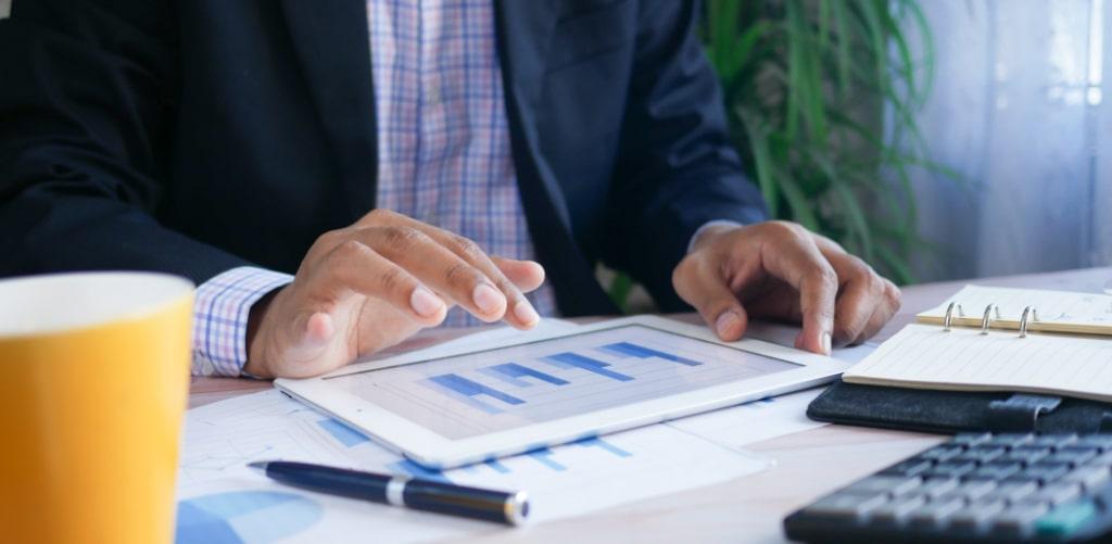 eCommerce Daten werden ausgewertet